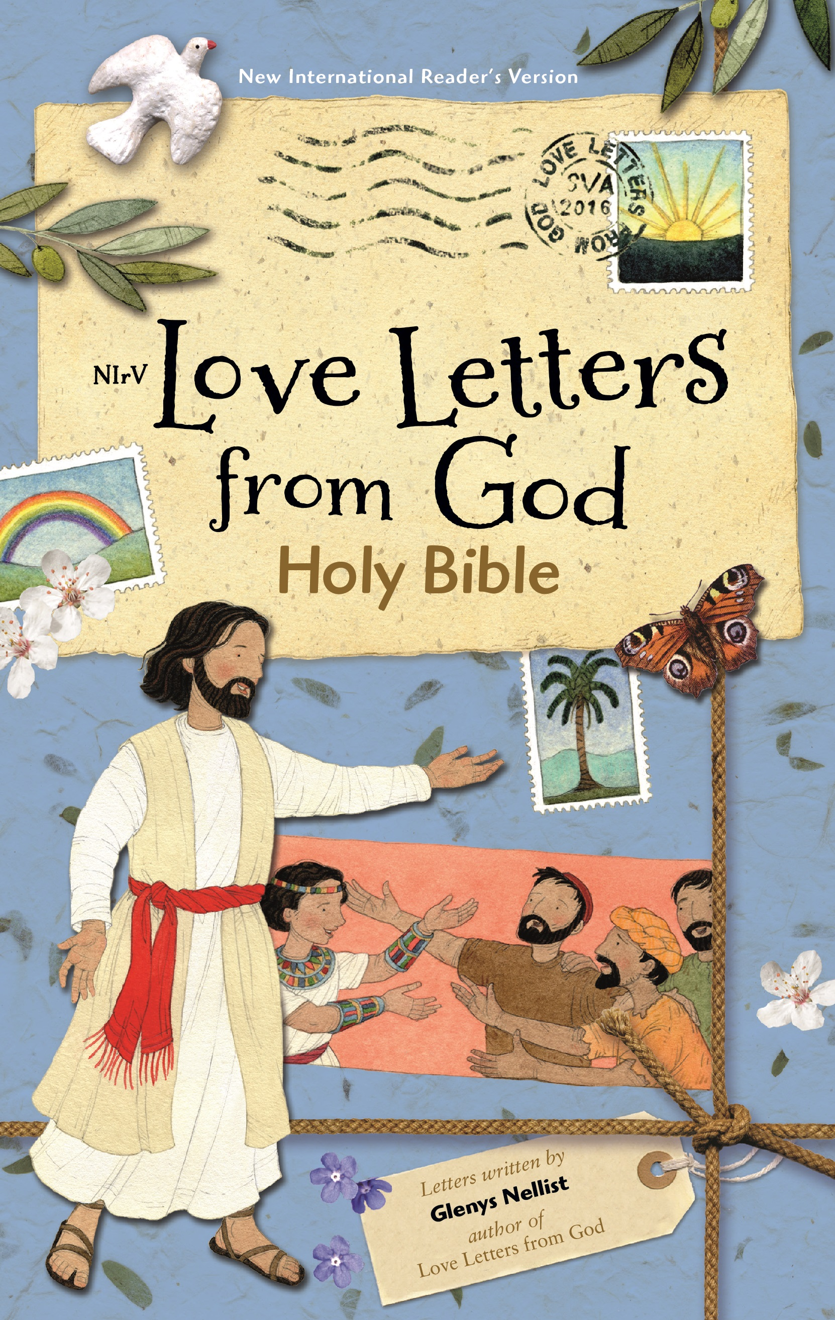 god s love letter glenys nellist children s book author 21956